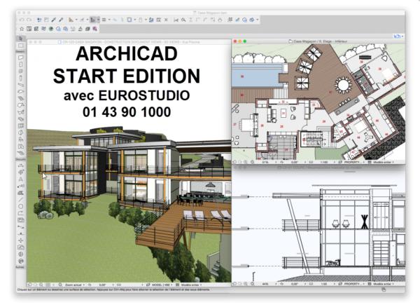 mise à jour ArchiCAD Start Edition