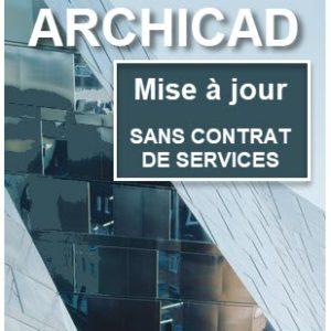 Mise à jour ARCHICAD sans contrat de services