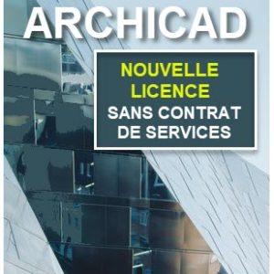 Acheter ARCHICAD sans CONTRAT DE SERVICES