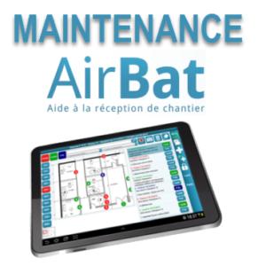Maintenance AirBAT logiciel de levée de réserves