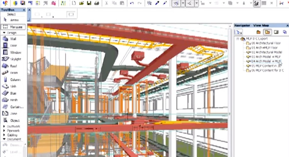 MEp Modeleur détection de collision collaboration revit
