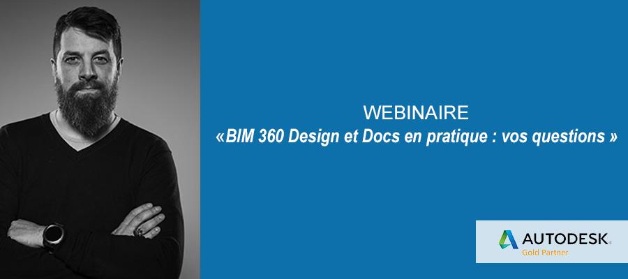 Webinaire : BIM 360 Docs et Design