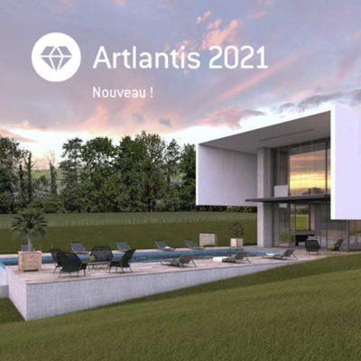 Découvrez les nouvelles fonctionnalités d'Artlantis 2021