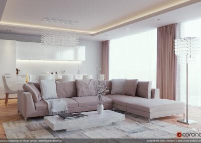 ©Luxurious Living Room by Eduard Caliman