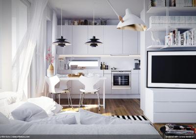 ©Ollikainen house interior by Ville Kiuru