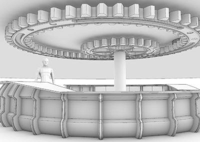 Rhino Architecture Model Illustration Eurostudio4