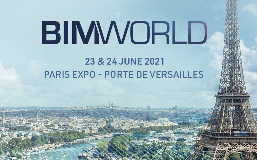 BIM World 2021 : Eurostudio et Art Graphique & Patrimoine vous accueillent les 23 & 24 juin 2021