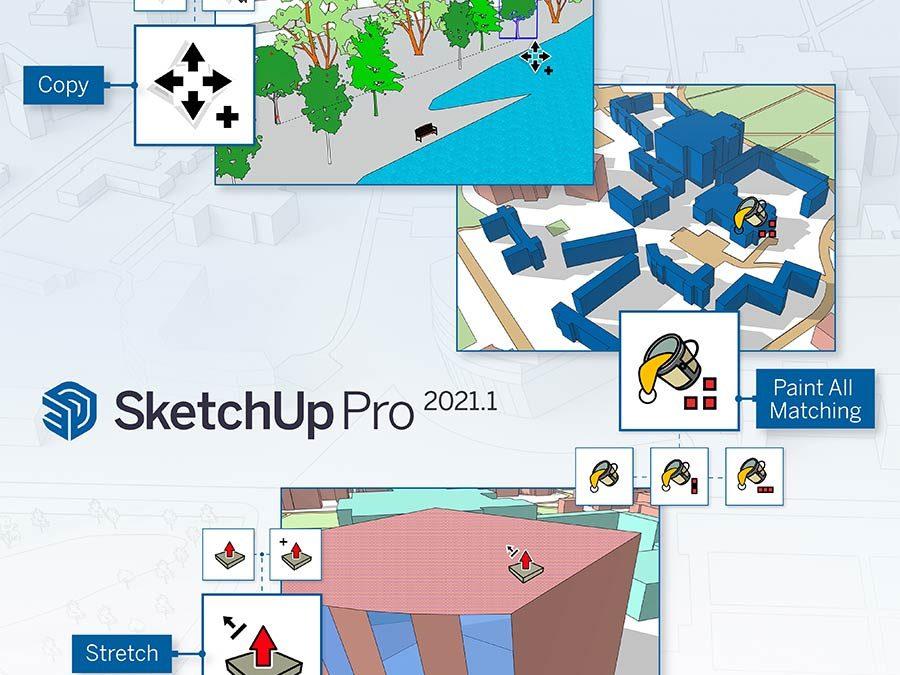Découvrez la mise à jour 2021.1 de SketchUp Pro
